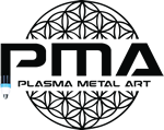 Plasma Metal Art Logo